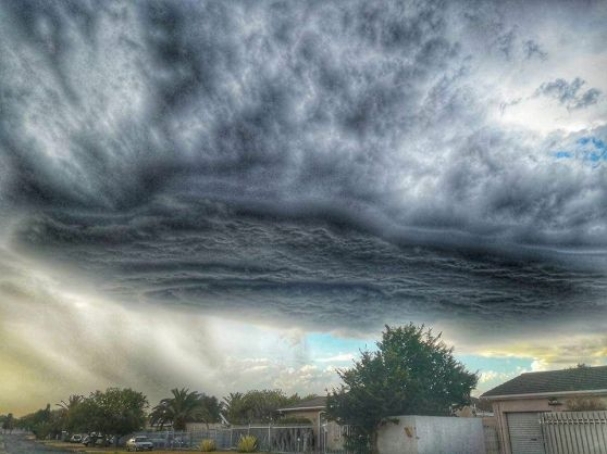 The recent storm by Cape Town Photographer