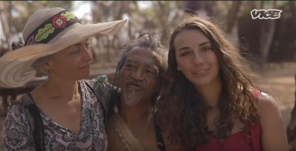Elder Uprise at Tribal Gathering