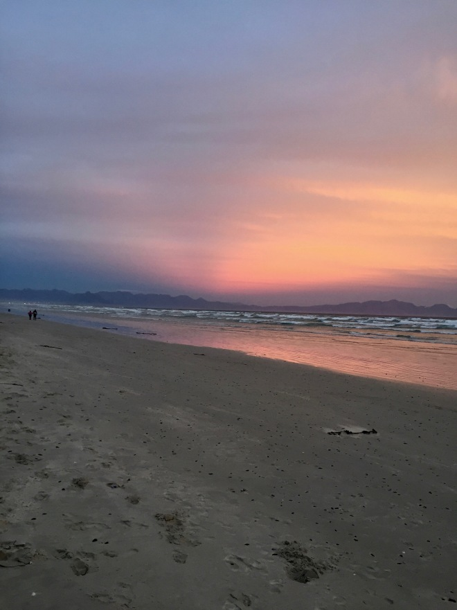 The last Sunset before lockdown